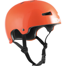 TSG Evolution Solid Color Helm gloss orange